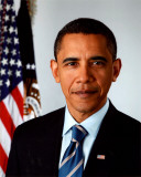 Barack Obama 2009 Official Portrait Photo