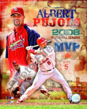 Albert Pujols 2008 NL MVP Photo