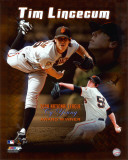 Tim Lincecum 2008 Cy Young Winner Photo