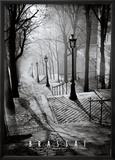 Die Treppen von Montmartre, Paris Kunstdrucke von  Brassaï
