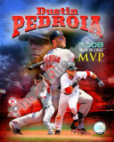 Dustin Pedroia 2008 MVP Photo
