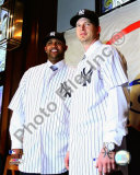 C.C. Sabathia and A.J. Burnett 2008 Press Conference Photo