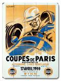 Coupes de Paris/1955 Wood Sign