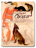Clinique Cheron Wood Sign