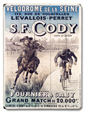 S.F. Cody Wood Sign