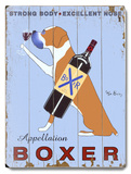 Appellation Boxer Wood Sign