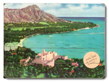 Diamond Head, Royal Hawaiian & Moana Wood Sign