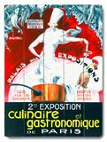 Exposition Culinaire et Gastronomique de Paris Wood Sign