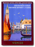 Venice Italian Gondola Travel Wood Sign