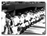 1937 World Series New York Yankees Placa de madeira