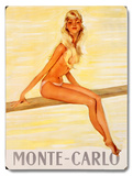 Monte Carlo: Girl Poster 1 Wood Sign