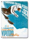 Campionati Italiani Assoluti di Sci Wood Sign