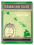 Matson Hawaiian Guide Map Wood Sign