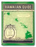 Matson Hawaiian Guide Map Placa de madeira