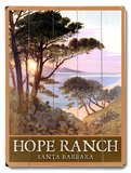 Hope Ranch Beach Santa Barbara Wood Sign