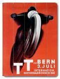 T. T. von Bern Wood Sign