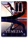 Venezia Italian Gondola Wood Sign