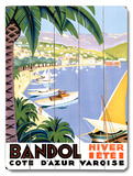 Bandol Wood Sign