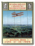 Dayton Ohio Air Aviation Show Wood Sign