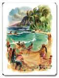 Havaí Placa de madeira