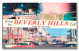 Greetings from Beverly Hills Wood Sign