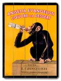 Anisetta Evangelisti Wood Sign
