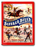 Buffalo Bill's Wild West Wood Sign