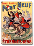 Pont Neuf French Kids Toys Poster Wood Sign