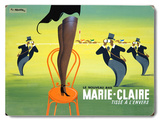 Marie Claire Wood Sign