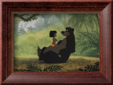Mowgli et Baloo (Le Livre de la Jungle) - ©Disney Posters