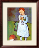 Child with a Dove, c.1901 Poster by Pablo Picasso