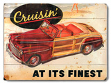 Cruisin&#39; Wood Sign
