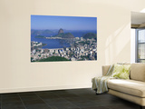 Skyline, Cityscape, Coastal City, Rio De Janeiro, Brazil Mural