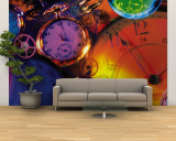 Clocks, Still Life, Time, Clock Hands, Montage Wall Mural – Large