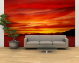 Sunrise, Water, Mulege, Baja, California, Mexico, United States Wall Mural – Large