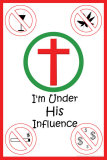 His Influence Print
