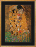 El beso, ca.1907 Pster por Gustav Klimt