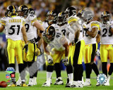 The Pittsburgh Steelers Defense - Super Bowl XLIII Photo