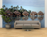 Lagoon Resort, Island, Water, Beach, Bora Bora, French Polynesia Wall Mural – Large