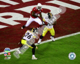 James Harrison Interception - Super Bowl XLIII Photo