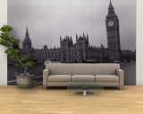 Parliament, Big Ben, London, England, United Kingdom Wall Mural – Large