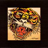 Tiger Kunstdrucke von Ed Hardy