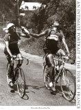 Erzrivalen Gino Bartali und Fausto Coppi Poster