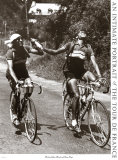 Archrivals Gino Bartali and Fausto Coppi Print