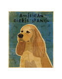 American Cocker Spaniel I Print by John Golden