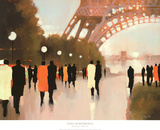 Paris Remembered Art by Lorraine Christie