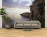 Castle at the Waterfront, Duntulm Castle, Isle of Skye, Scotland Wall Mural – Large