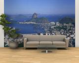 Skyline, Cityscape, Coastal City, Rio De Janeiro, Brazil Wall Mural – Large
