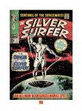 Silver Surfer: The Origin Kunstdruck