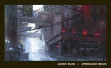 Japan Rain Art by Stéphane Belin